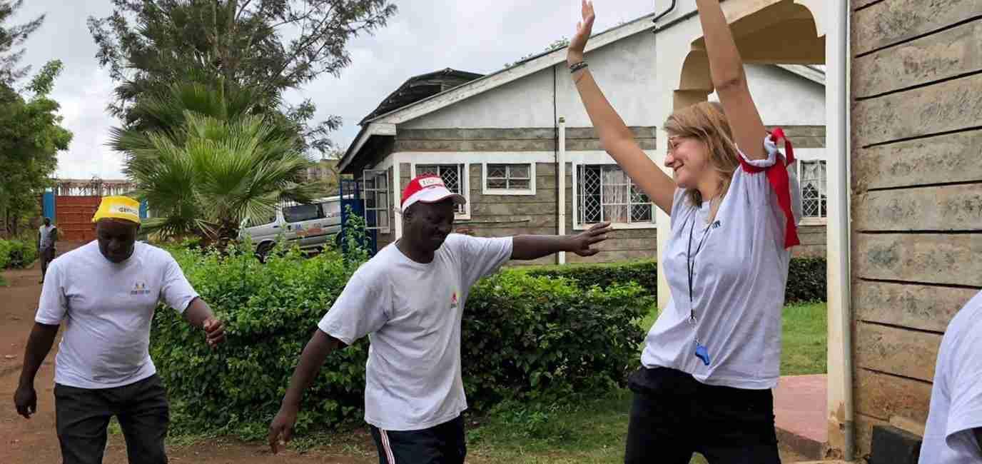 Het verhaal van trainer Claudia in Kenia
